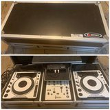 Pioneer DJ setup with case in Cleveland, Texas