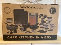 Sedona 64pc Kitchen in a Box in Cleveland, Texas