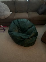 big green bean bag chair in Naperville, Illinois
