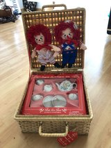 Raggedy Ann & Andy Tea for Two Set.. New in Basket in Stuttgart, GE