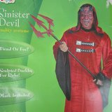 NEW Sinister Devil Costume 42-46 in Naperville, Illinois