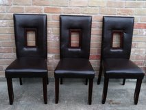 3 chairs in Houston, Texas