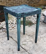 ANTIQUE TEAL TABLE in Fort Polk, Louisiana