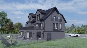 Luxurious new build 4 BR family home with garage in Wiesbaden, GE