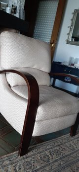 Recliner high legs fabric in Ramstein, Germany