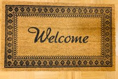 Welcome mat in Wiesbaden, GE