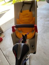 Bickcle mounted child seat in Naperville, Illinois