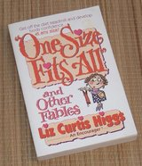 Vintage 1993 One Size Fits All and Other Fables Soft Cover Book Positive Self-Confidence in Yorkville, Illinois