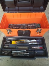 Toolbox with drill bits in Naperville, Illinois