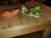Enesco figurines and Christmas ornament, Lettuce dog, Snake sprouts, and sweet potato alligator in Fort Campbell, Kentucky