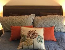 Queen Bed (Frame and Headboard) in Naperville, Illinois