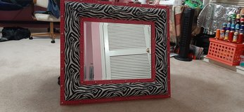 Mirror zebra and hot pink leatherprints in Fort Campbell, Kentucky