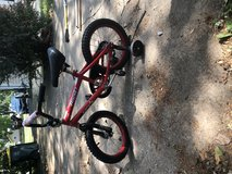 Kids bike with training wheels in Naperville, Illinois