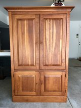 Hickory Park Maple Armoire in Naperville, Illinois