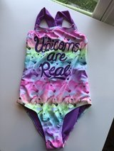 Justice swimsuit size 7 one piece in Naperville, Illinois
