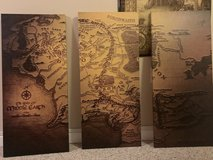 LOTR Map Of Middle Earth Print in Naperville, Illinois