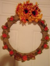 Fall wreath 18 inches,click picture to enlarge. Please message me if interested. in Fort Hood, Texas