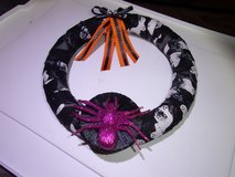 Halloween Wreath.Ghosts Skulls  Spider, in Fort Hood, Texas