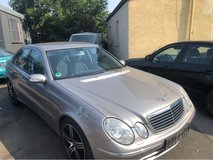 Mercedes E 200 Kompressor Automatic- splendid shape in Hohenfels, Germany