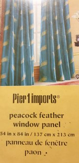 Pier 1 Imports Curtains Peacock in Ramstein, Germany