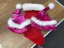 Christmas Stocking & 2 Hats in Bolingbrook, Illinois