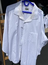 Men's Van Heusen White Shirt in Naperville, Illinois