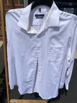 Men's Geoffrey Beene White Shirt #2 in Chicago, Illinois
