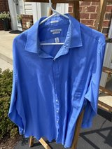 Men's Light Blue Van Heusen Shirt in Naperville, Illinois