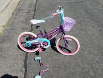 Girls bicycle in Vista, California