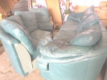Original Sectional leather Sofa. in Fort Rucker, Alabama