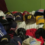 Collection of Hats in 29 Palms, California