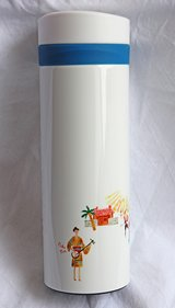 Okinawa Starbucks water carry bottle, new in Okinawa, Japan