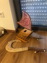 moana boat and Maui hook in Ramstein, Germany