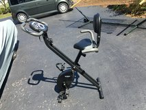 Smooth X  folding exercise bike in Aurora, Illinois