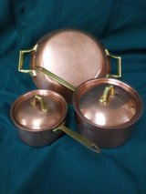 Revere Copper Cookware  2269-698 /699 in Camp Lejeune, North Carolina