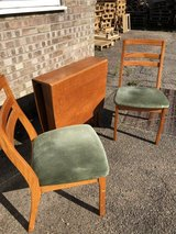 Nathan 1970s/80s Foldable Table and 2 Chairs in Lakenheath, UK