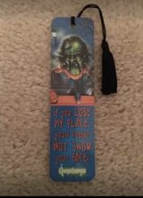 Goosebumps book mark in Camp Lejeune, North Carolina