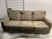 Light Grey Pullout Couch  - Sofabed with Queen mattress in Chicago, Illinois