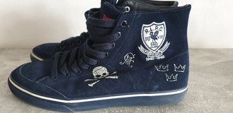 Polo Ralph Lauren high top shoes, blue in Ramstein, Germany