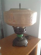 Antique Frank Lloyd Wright looking Lamp in St. Charles, Illinois