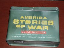 America Stories of War 36 DVD collection in Naperville, Illinois