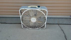 Box fan in Camp Pendleton, California