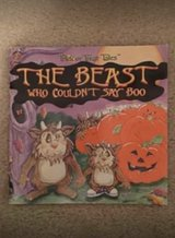 Trick or Treat Tales-The Beast Who Couldn't Say Boo book in Camp Lejeune, North Carolina