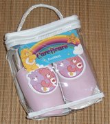 NEW Care Bears RARE Pink Slipper Footlets Girls 12-18 Months American Greetings in Yorkville, Illinois