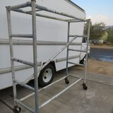 aluminum scaffold with locking wheels in Yucca Valley, California