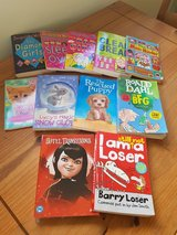 Girly books in Lakenheath, UK