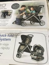 Chicco Car Seat w/base and Stroller set in Ramstein, Germany