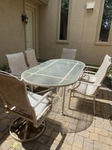 7 piece patio set in Tomball, Texas