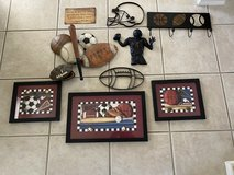 10 Pieces Sports Theme Room Decor in Fort Hood, Texas