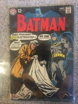 """BATMAN # 212 """" SHOT, POISONED AND ELECTROCUTED?"""" (DC 1969) in Fairfax, Virginia"""